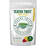 Teatox Twist Fruit Flavour 28 Day Plan. Delicious Premium Detox Tea to Drink at Any Time. Fantastic Weight Loss Tea Great Unique and Delicious Herbal Tea Blend. Contains 28 Biodegradable Teabags