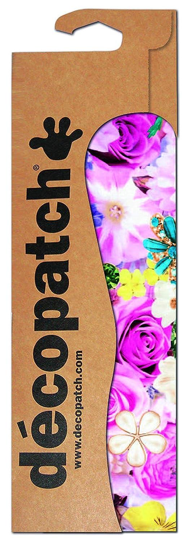 Modelo Oriental con Rosas Color Rot Pfingsrose Format : 395 x 298 mm Pack de 3 Unidades Clairefontaine C590O Decopatch/ Colores marr/ón y Rosa /Papel Decorativo para decoupage