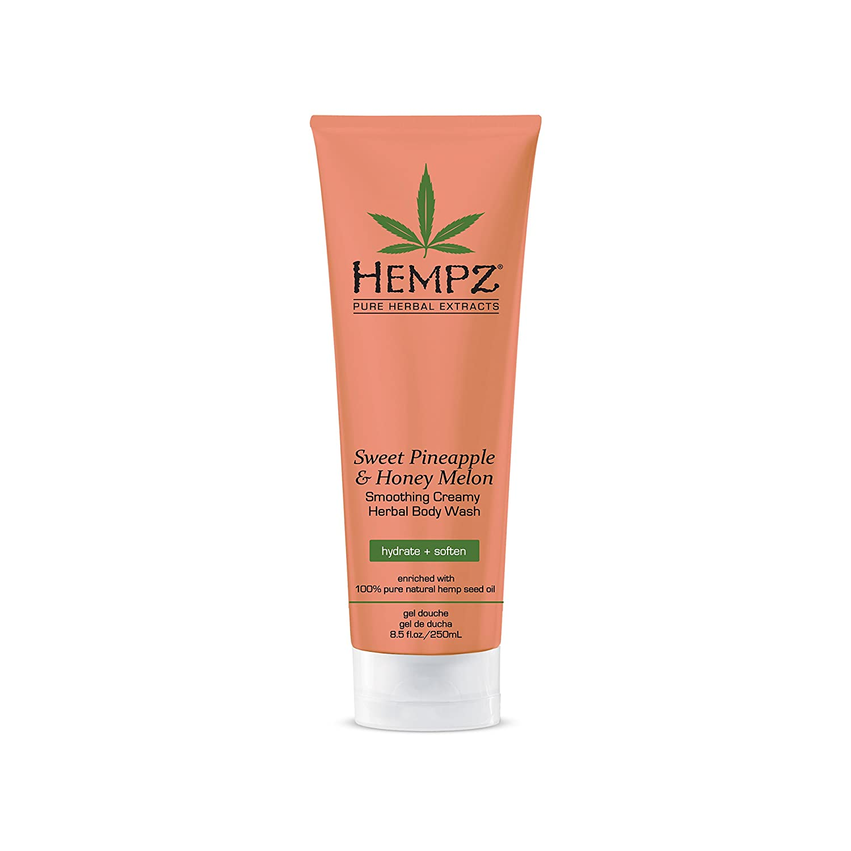 Hempz Sweet Pineapple & Honey Melon Creamy Herbal Body Wash, 8.5 Ounce PBI Group Inc.