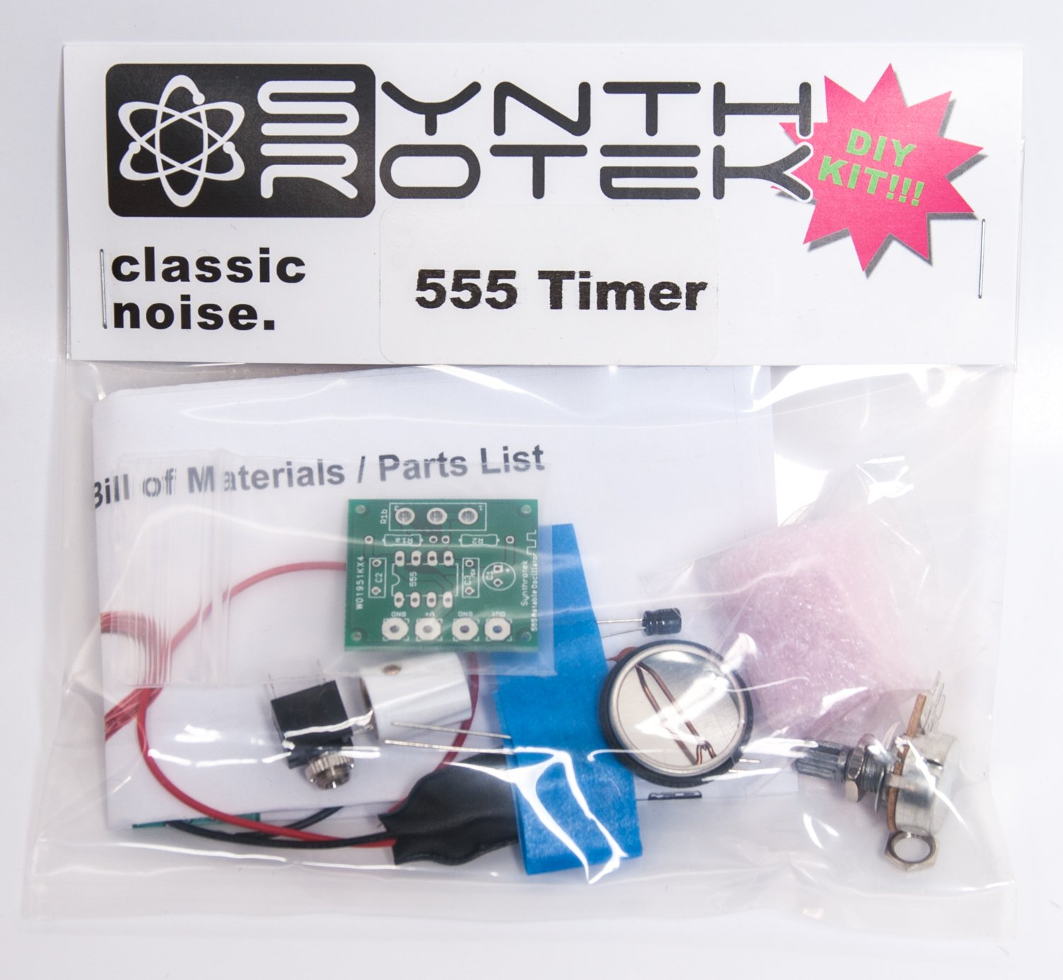 Synthrotek 555 Timer Oscillator Kit Garden Outdoor Timedelay Circuit With Watchdog Composed Of Audiocircuit