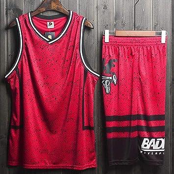 LHDDD NBA Baloncesto Uniformes Camisa retro de hombre y traje corto.: Amazon.es: Bricolaje y herramientas