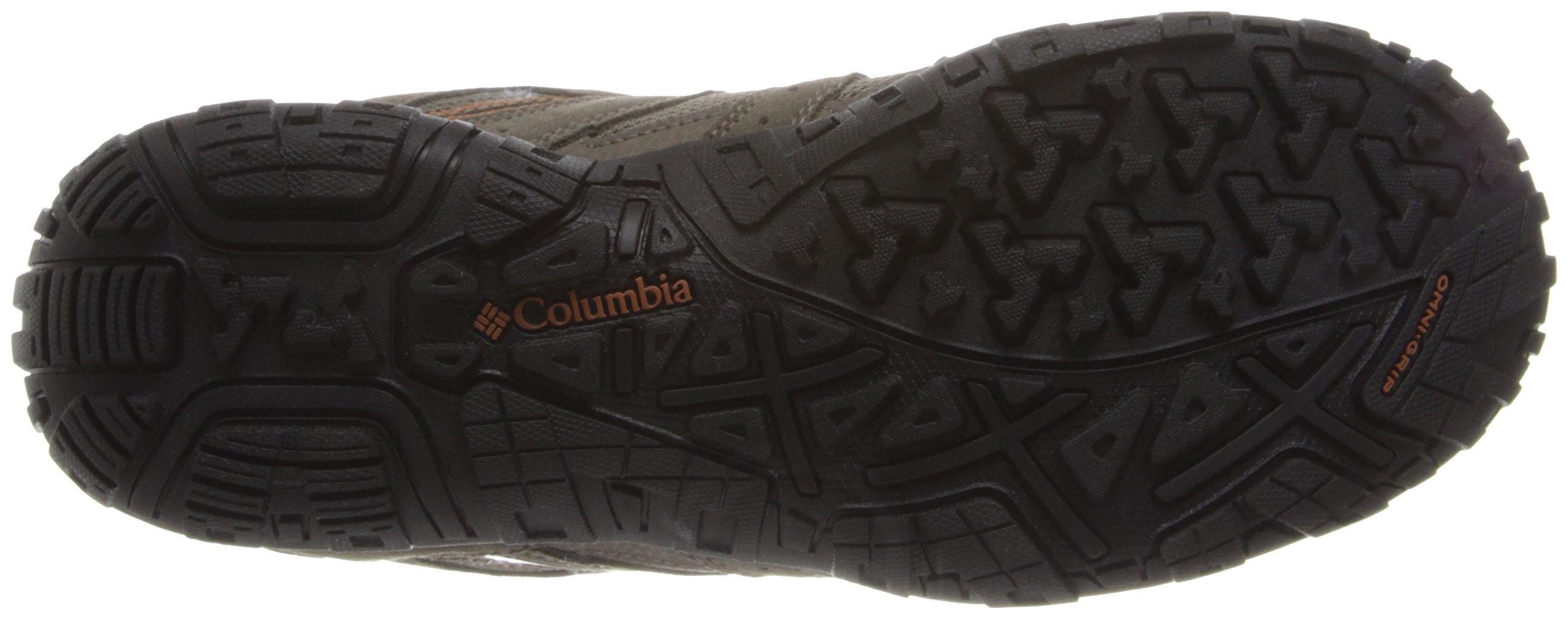 Columbia Men's Redmond Waterproof Hiking Shoe Pebble, Dark Ginger 7 D US by Columbia (Image #3)