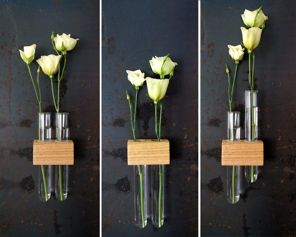Amazon magnetic test tube flower bud vase handmade reviewsmspy