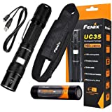BUNDLE: Fenix UC35 960 Lumens PD35 Rechargeable CREE XM-L2(U2) LED Tactical Flashlight with 3200mAh 18650 Battery and LegionArms USB Charging Cord