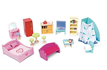 Exceptional Le Toy Van Deluxe Dollu0027s House Furniture Set