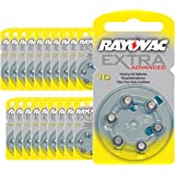 120 piles auditives Rayovac 10 Extra advanced / pile auditive PR70 / piles pour appareils auditifs / 10AE,A10,DA10,P10,PR10H by Rayovac