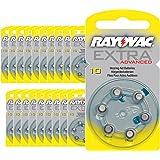 120 piles auditives Rayovac 10 Extra advanced / pile auditive PR70 / piles pour appareils auditifs / 10AE,A10,DA10,P10,PR10H