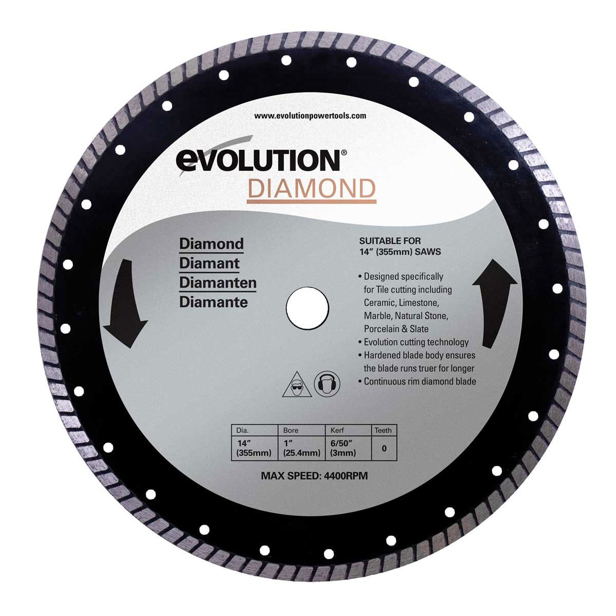 Evolution diamond blade 355 mm amazon diy tools keyboard keysfo Image collections