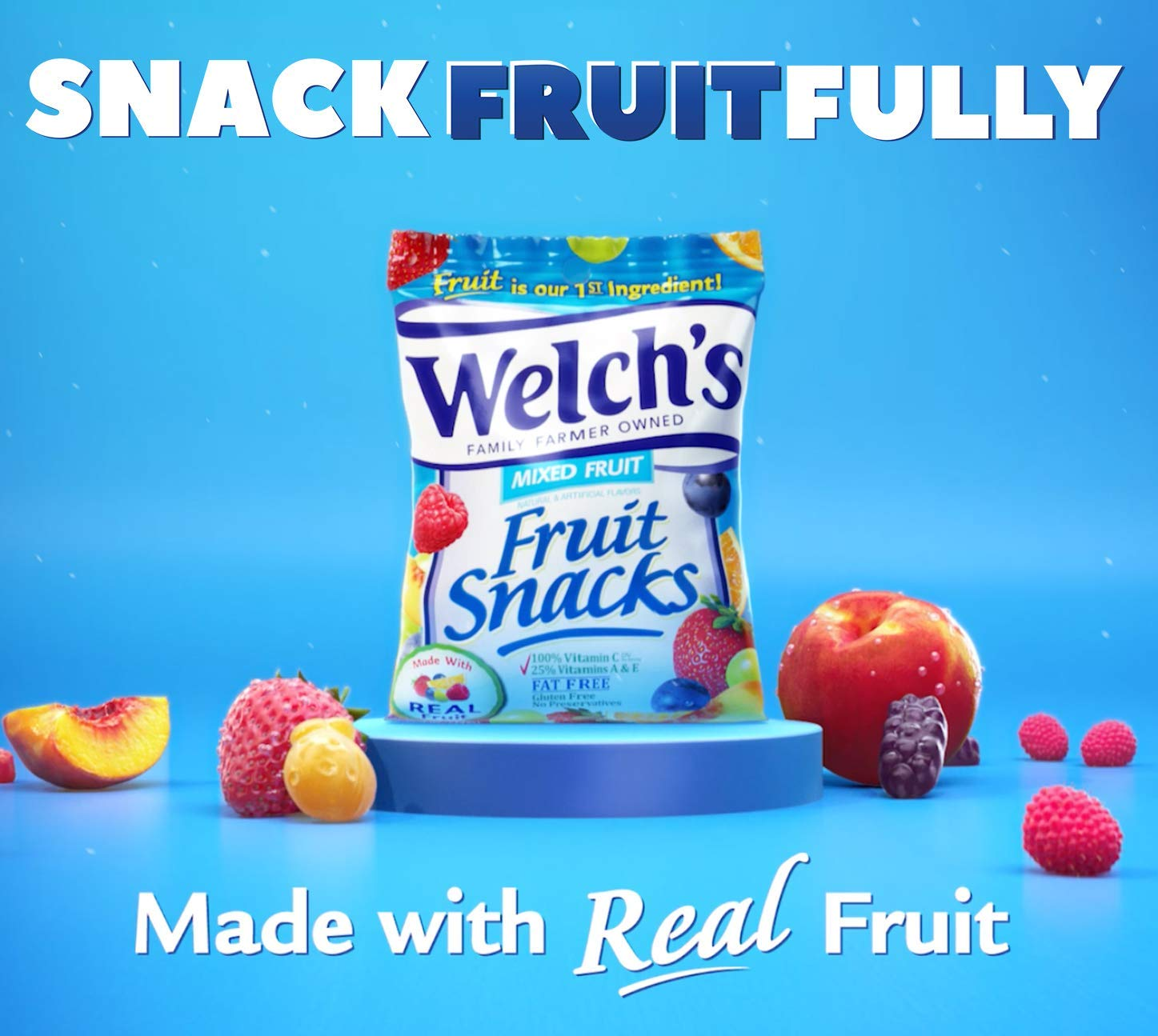 Welch's Fruit Snacks (Fruit Punch & Island Snacks (40 Count)) by Welch's (Image #6)