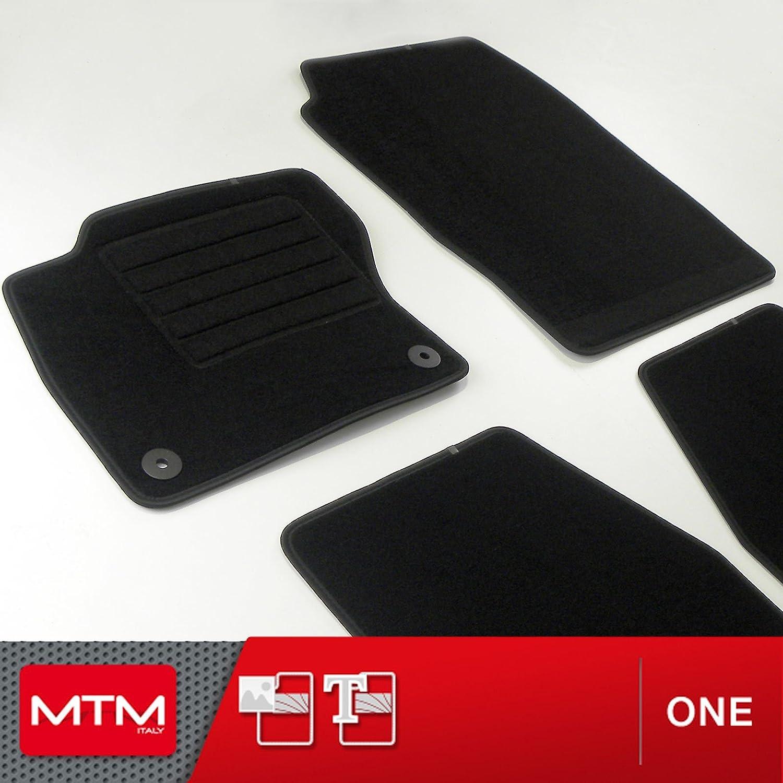 MTM Tapis Auto Focus III Depuis 03.2011- Personnalis/és sur Mesure en Velours Antid/érapant,Talonnette en Caoutchouc Plus fr629 cod