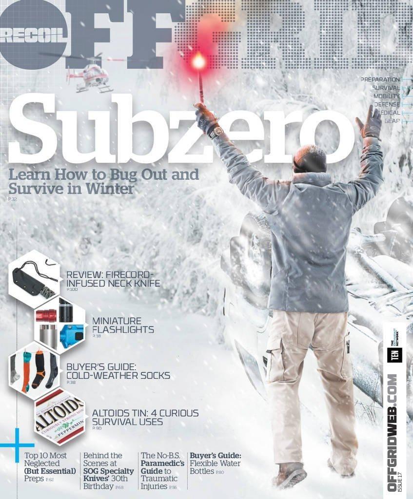 Offgrid Magazine 2017 Issue #17 Subzero ebook