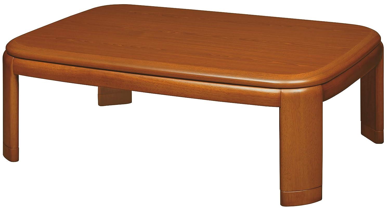 おしゃれ こたつ テーブル 長方形 150×90×36(41) cm 継脚炬燵 継ぎ足し NWZ-150BR B07JL8BDTS