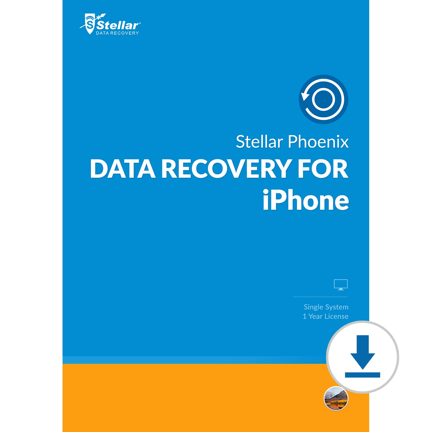 Stellar Phoenix Data Recovery for iPhone (Mac) [Download]