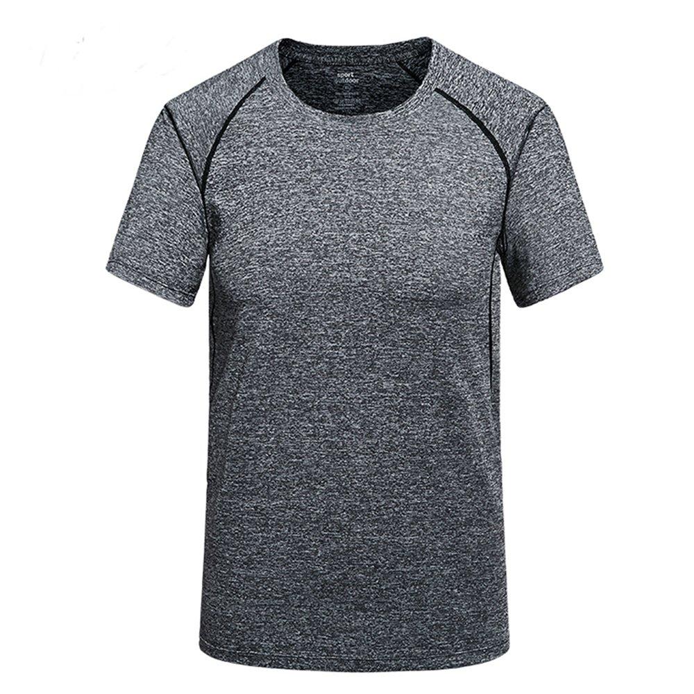 Chusanhi Yoga t Shirts for Men Short Sleeve Workout Activewear Shirt Top