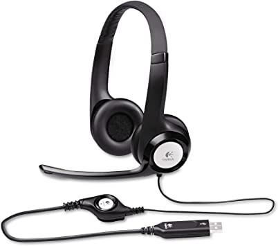 Logitech New logitech h390 USB Headset with noisecanceling Microphone
