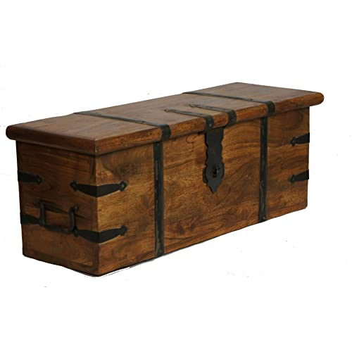 Coffee Storage Chest Trunk Table: Amazon.co.uk