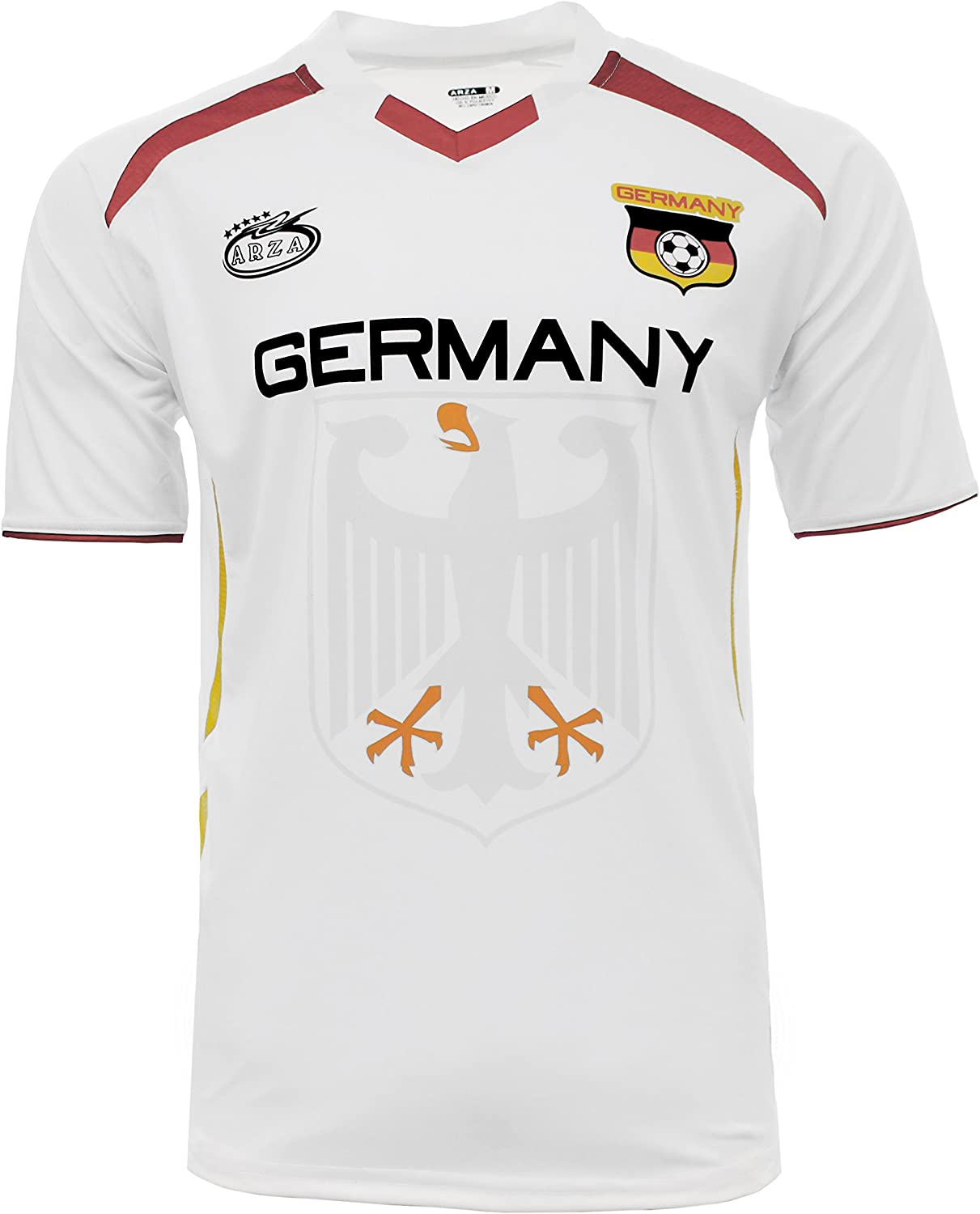 Germany Jersey Arza Design Home and Away