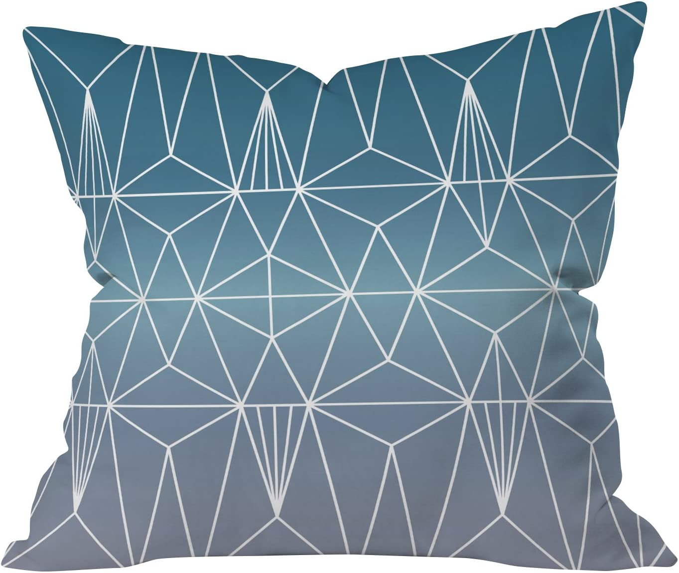 Amazon Com Deny Designs Mareike Boehmer Nordic Combination 31 A Throw Pillow 16 X 16 Home Kitchen