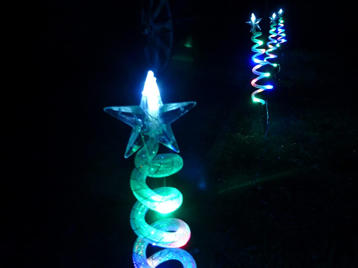outdoor christmas trees uk part 44 christmas decorations multi coloured christmas trees - Christmas Tree Pathway Lights