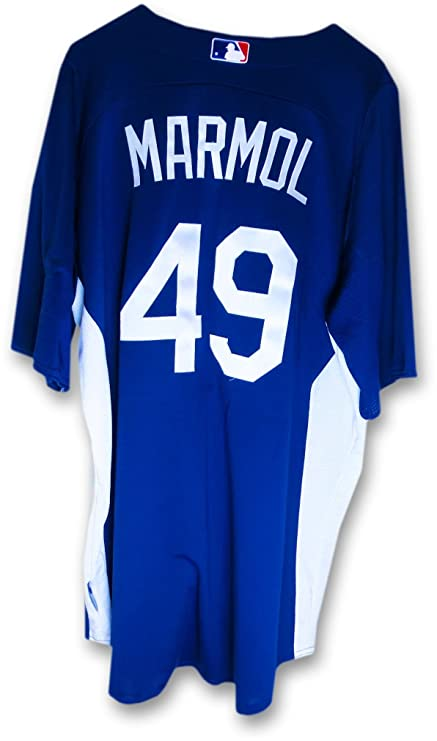 fd4b1e2c0 Carlos Marmol LA Dodgers Team Issue Batting Practice Jersey  49 MLB EK645221