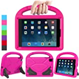 LEDNICEKER Kids Case for iPad Mini 1 2 3 4 5 - Light Weight Shock Proof Handle Friendly Convertible Stand Kids Case for iPad
