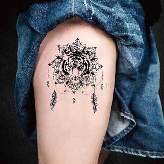 ljmljm 3 Unids Impermeable Tatuaje Pegatinas Luna Flor Estrella ...