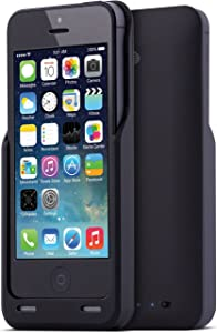 AT&T iPhone SE/5/5s Extended Life Battery Case Charger - Black