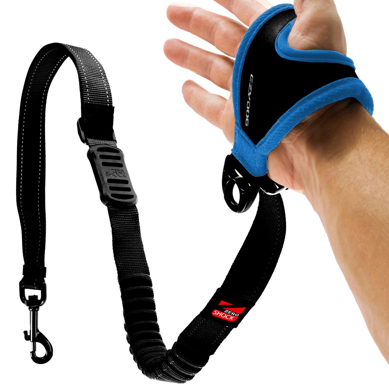 "EzyDog HANDY 48 Dog Leash - The Best Adjustable Running Leash or Training Lead with ZERO SHOCK Shock-Absorbing Technology (Adjustable 36"" - 48"")"