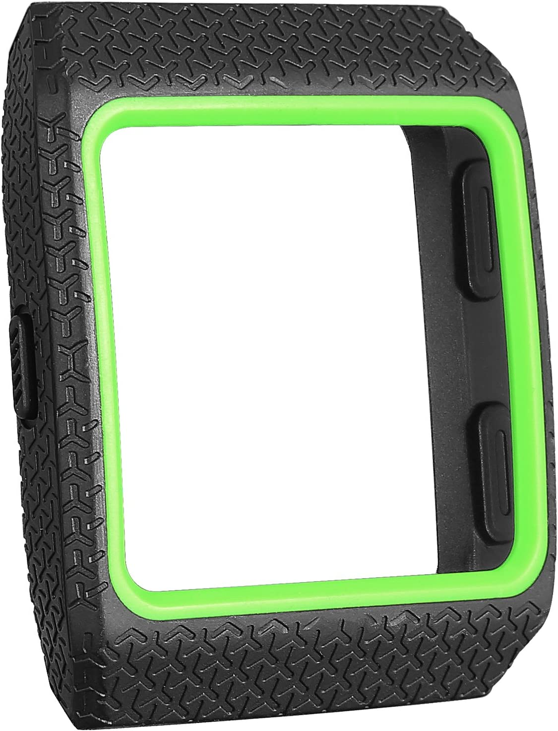 SKYLET Compatible with Fitbit Ionic Case, Soft Protective Case Shock Resistant Cover Shell Compatible with Fitbit Ionic Smart Watch (Black)