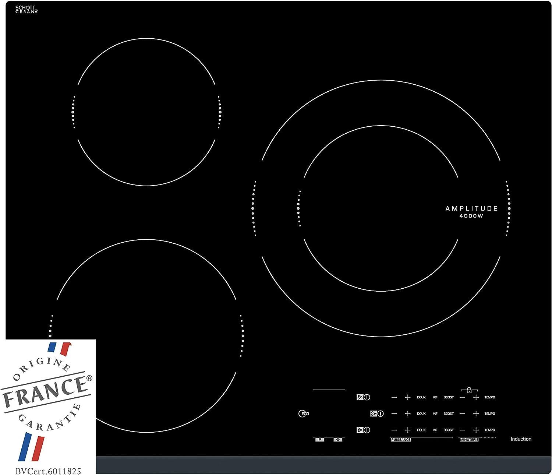 Sauter Spi4360b Plaque A Induction Encastrable 3 Foyers