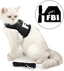 smalllee_lucky_store - FBI arnés y correa para gato antiescape de ...