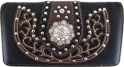 Western Design Leather Coin Purse
