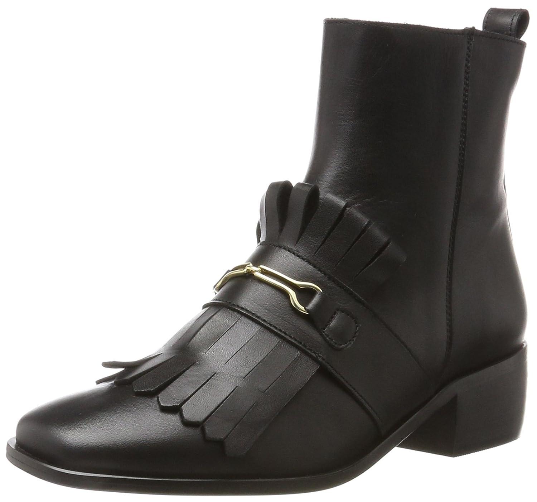 KMB Damen Aspe Kurzschaft Stiefel (schwarz)  Schwarz (schwarz) Stiefel 764561