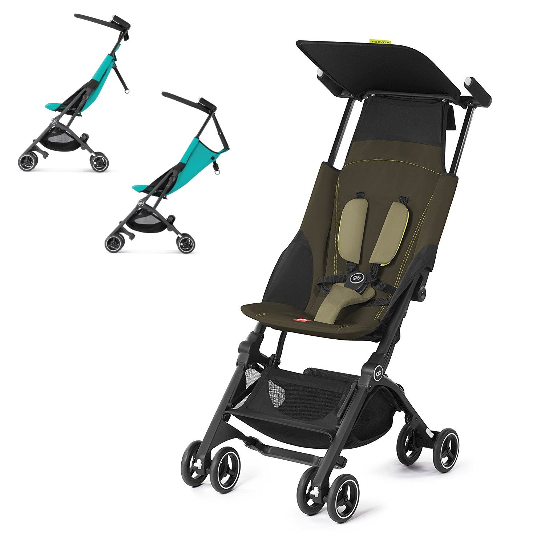 GB Pockit PLUS Stroller 2017 / multi-adjustable backrest / Light Traveler / from 6 Mo.-4Y. Lizard Khaki