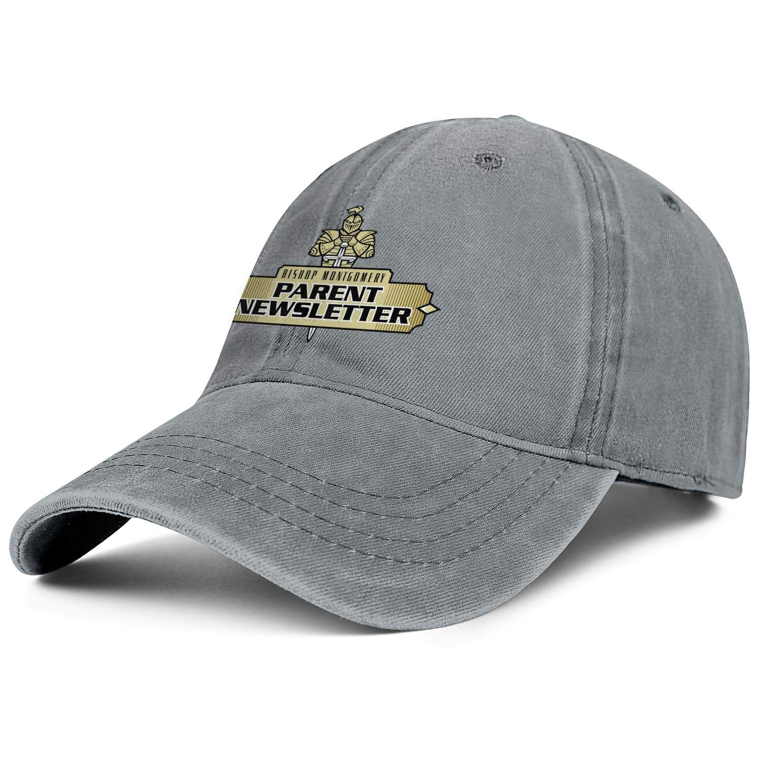 Young Man Durable Washed Strapback Hat Jean Hat Rock Punk Twill Cotton Bishop-Montgomery-High-School