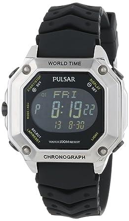 amazon com pulsar men s pw3001 collection watch pulsar watches rh amazon com Pulsar Watch Battery Chart Pulsar Digital Watch
