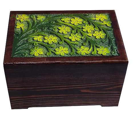 Amazon Com Handicrafts House Decorative Wooden Urns For