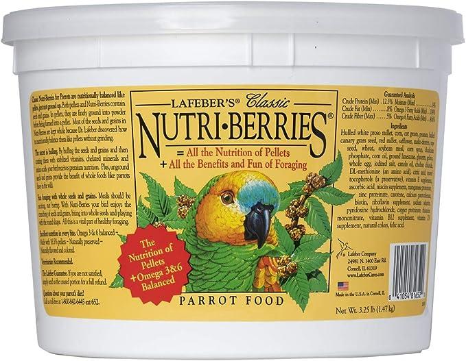 Parrot Nutri - berries 3.25lb: Amazon.es: Electrónica