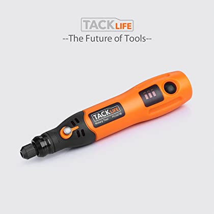 Tacklife PCG01B 3.7V Li-on Cordless Rotary tool Three-Speed with 31-Piece