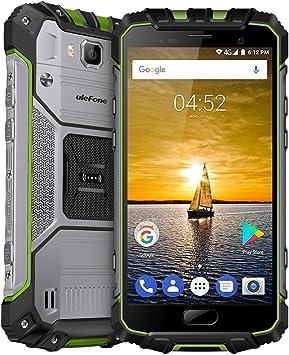 IP68 Desbloqueado Impermeable 4G Smartphone identificación de ...