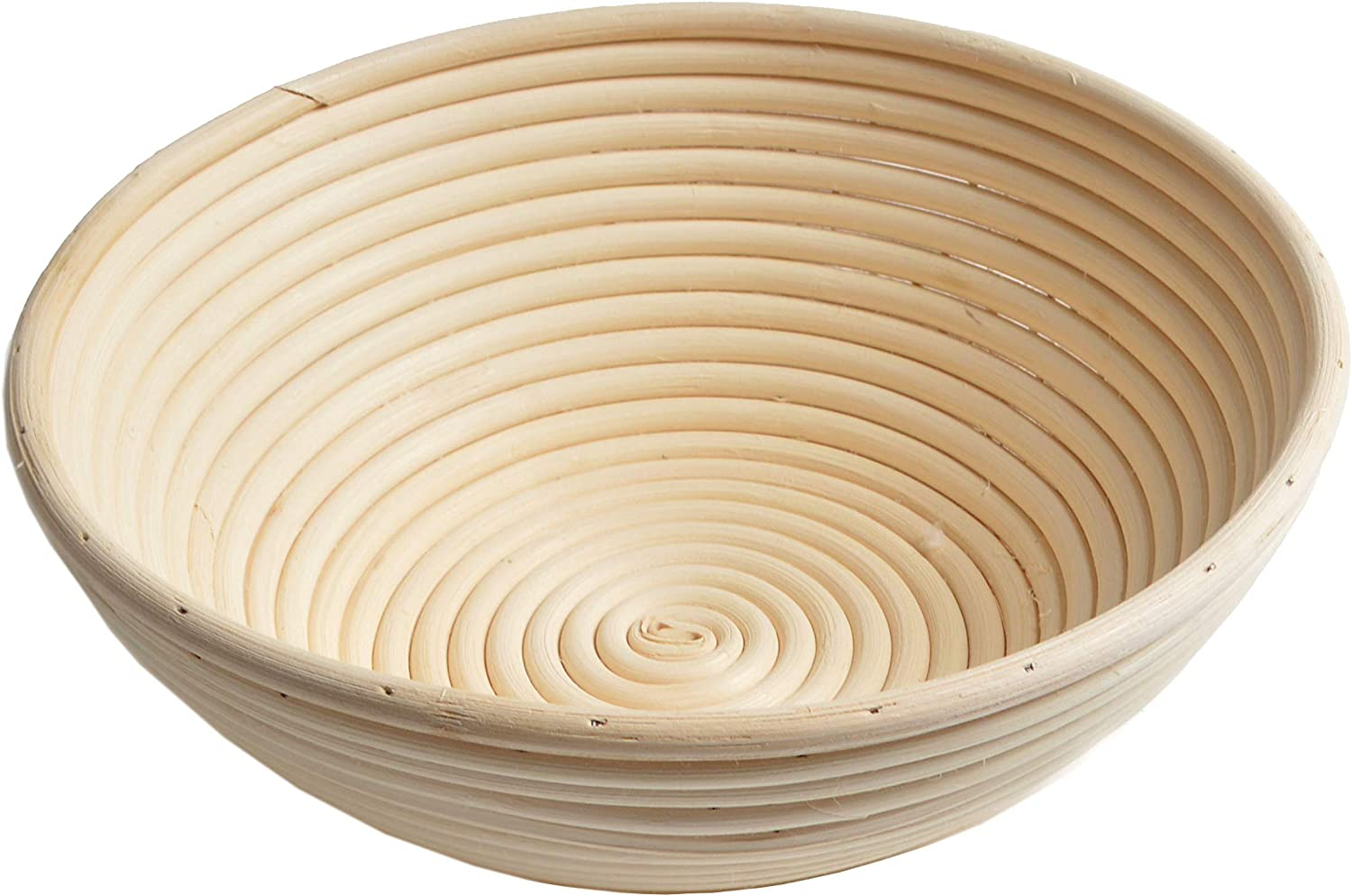 22x8.5cm Round Oval Long Bread Proving Basket Rattan Proofing Basket Bannetons Brotform Can Hold 500g Dough
