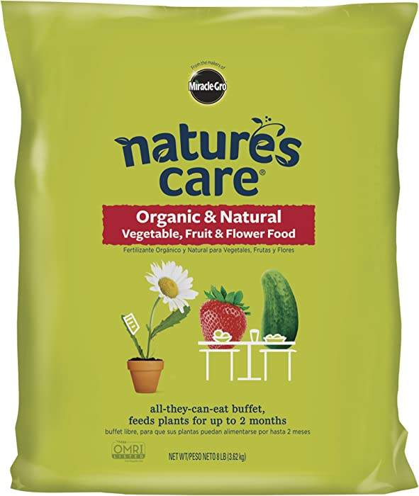 Nature's Care Organic & Natural Vegetable, Fruit & Flower Food, 8 lb.
