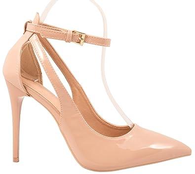 Elara Spitze Pumps  Moderne High Heels  Bequeme Lack Stilettos
