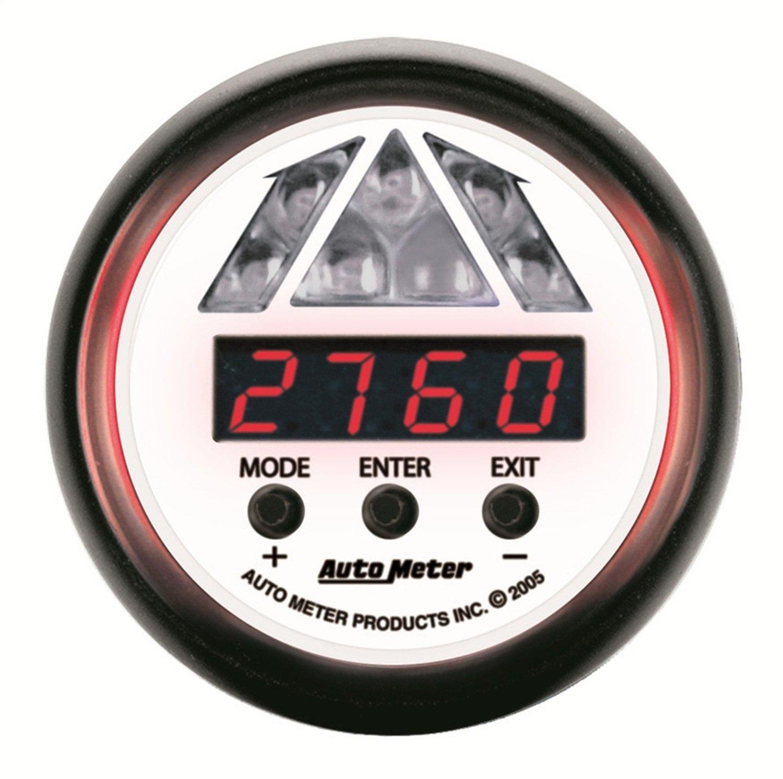 Auto Meter 5787 Phantom 2-1/16' Shift Light 0-15k RPM Level 1 Digital Pro Shift System