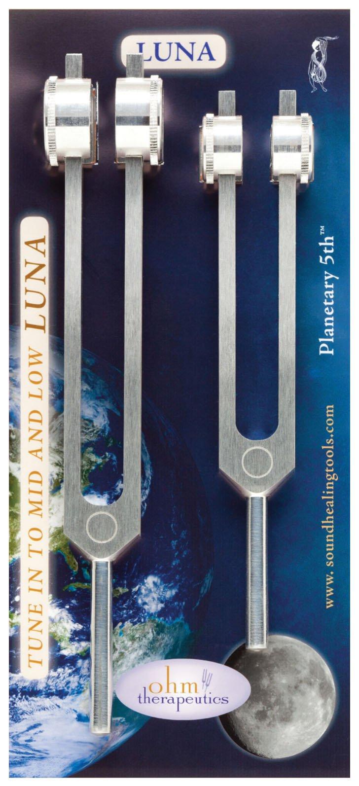 Tuning Fork - Luna Set - 210.42 & 105.21 hz