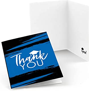 product image for Blue Grad - Best is Yet to Come - Royal Blue Graduation Party Thank You Cards (8 Count)