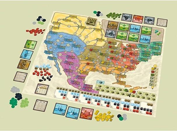 Power Grid Deluxe: Europe/North America: Amazon.es: Juguetes y juegos