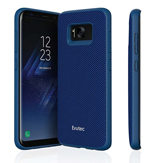Evutec AERGO Ballistic Nylon Series Case for Samsung Galaxy S8 - Blue
