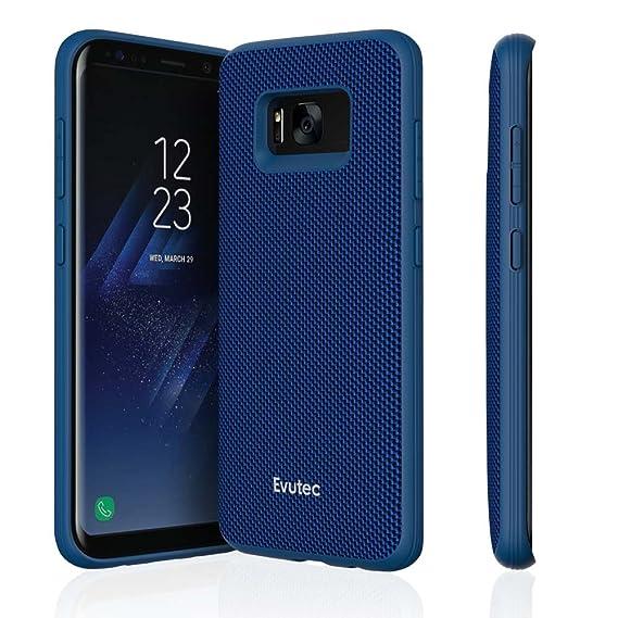 Evutec AERGO Ballistic Nylon Series Case for Samsung Galaxy S8 - Blue