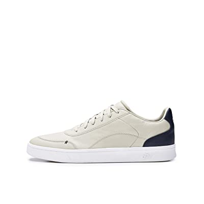 CARE OF by PUMA Men's Leather Low-Top Sneakers: Shoes